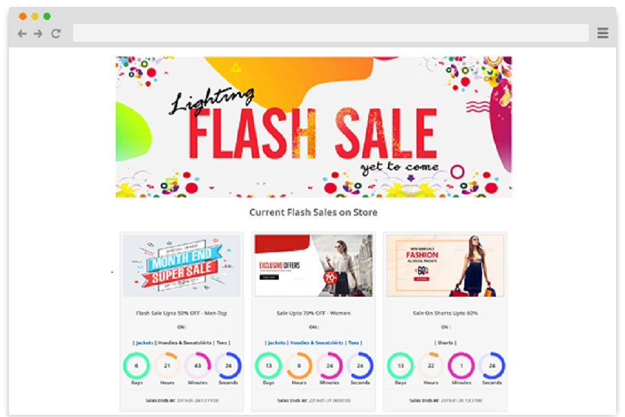 Magento 2 Flash Sales Extension
