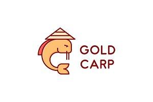 Gold Carp Logo