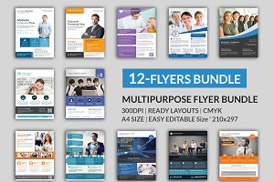Corporate 12 Flyer Big Bundle