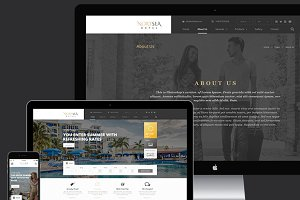 NortSea Hotel Multipurpose Template