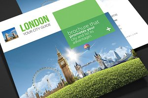 London - City Trifold Brochure