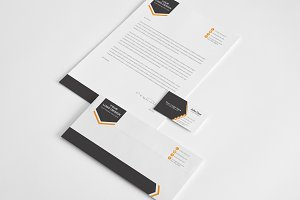 Aero Stationery Design Template