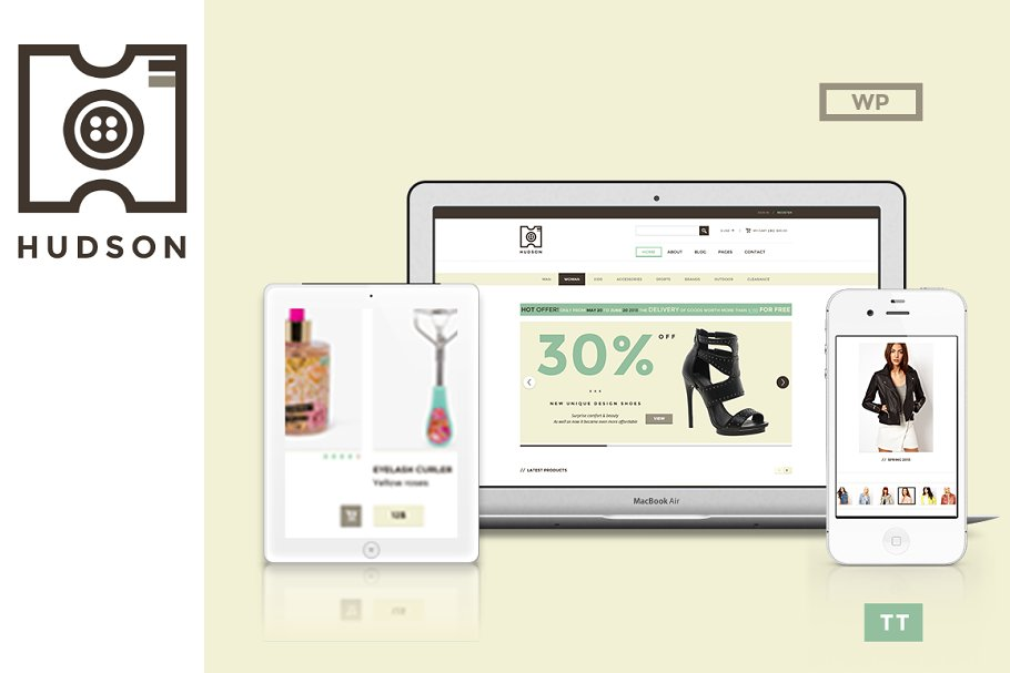 24 Responsive WooCommerce Themes & Templates