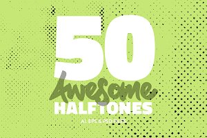 50 Awesome Halftones