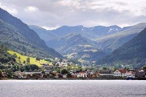 Vick village, Norway