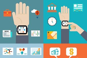 Smart watch financial news
