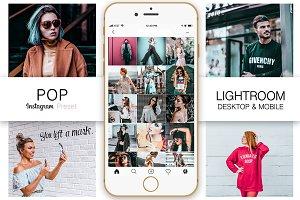 Pop Instagram Blogger Presets