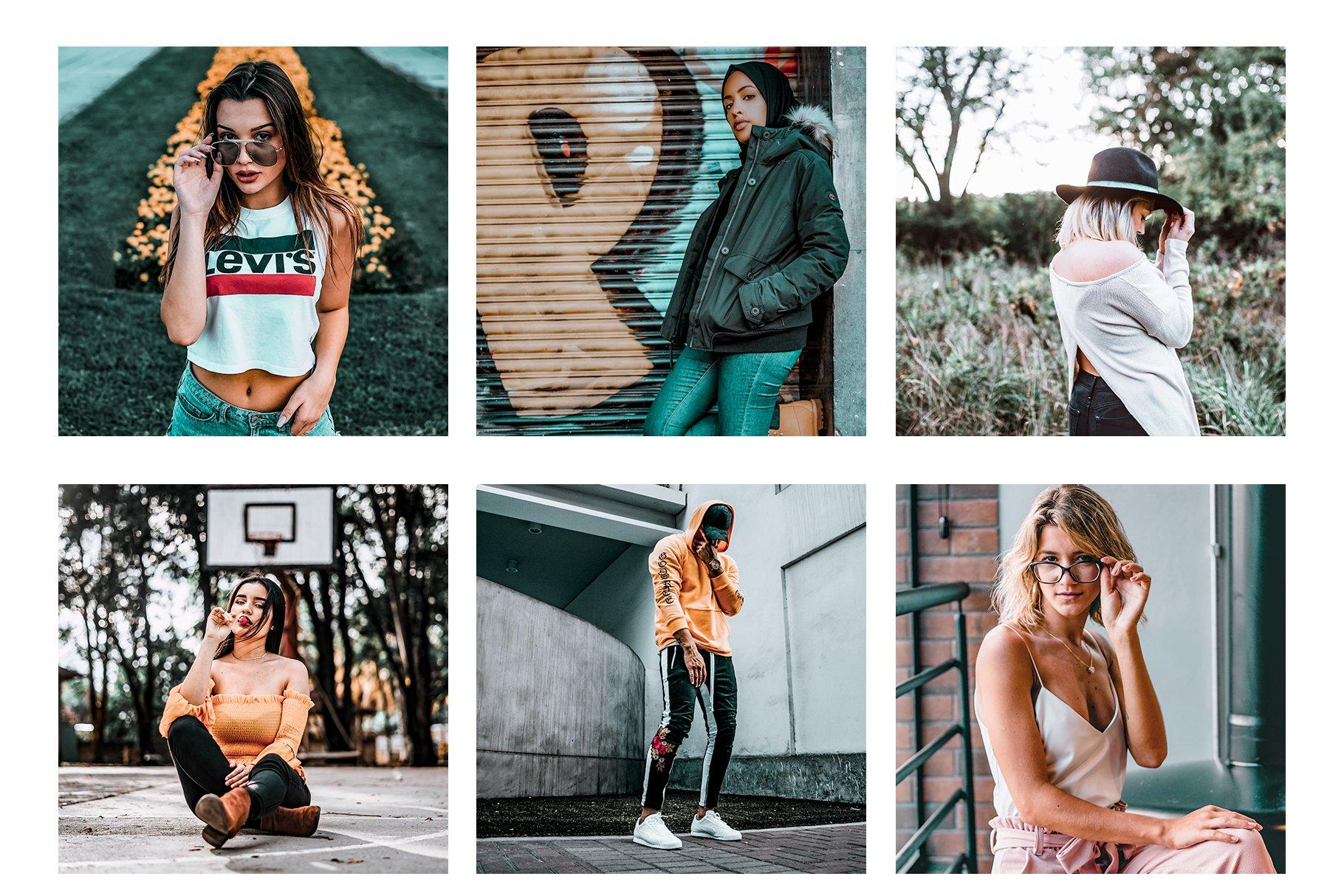Pop Instagram Blogger Presets - Actions - 2