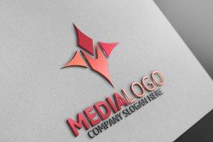 Media Logo / M Letter