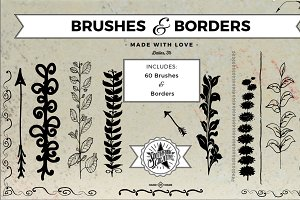 Brushes & Borders