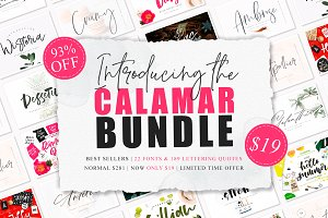 The Calamar Typographic Bundle