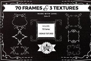 70 Frames & 3 Textures