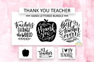 Thank you teacher graphics