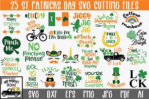 St Patricks Day SVG Cut File Bundle