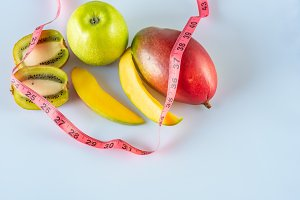 Diet with tropical fruits