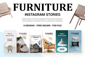 Furniture Instagram Stories - SK