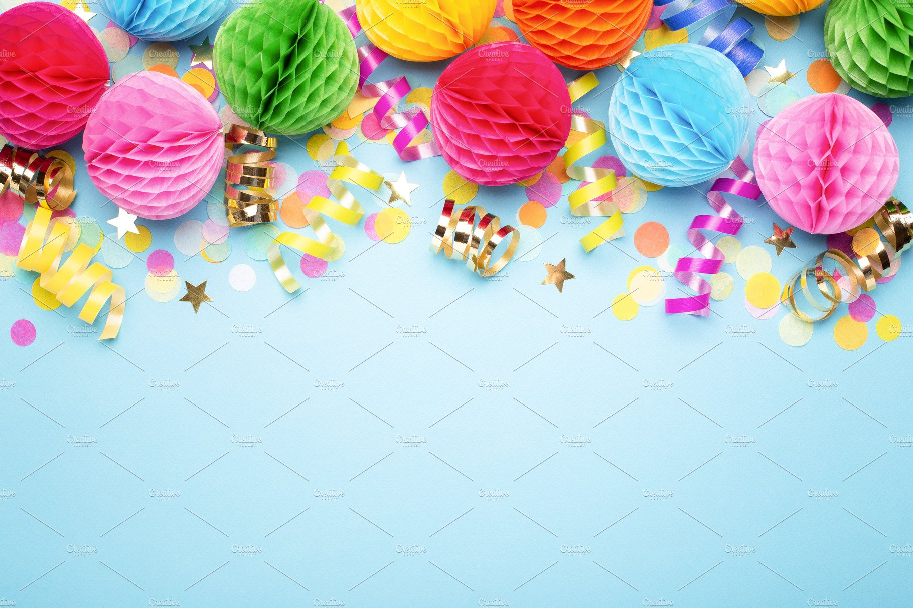 Birthday Party Background High Quality Holiday Stock Photos Creative Market