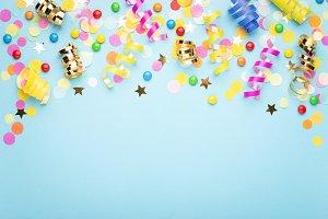 Birthday party background №2