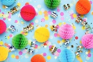 Birthday party background №3