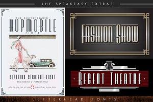 LHF Speakeasy Extras