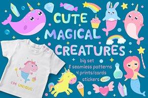 Cute magical creatures