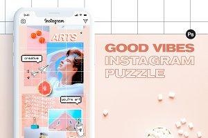 Instagram Puzzle - Good Vibes