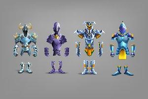 Set of armor