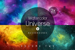 Watercolor Universe Vol. 2
