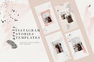 10 Artsy Instagram Stories Templates