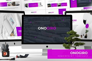 Onogiro - Powerpoint Template
