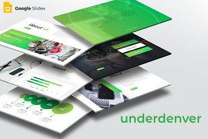 Underdenver - Google Slide Template