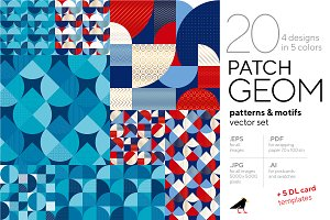 Patch Geometry Patterns Collection
