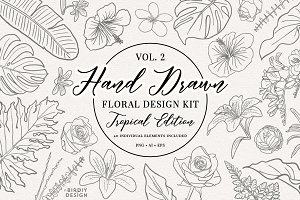 Floral Botanical Illustrations