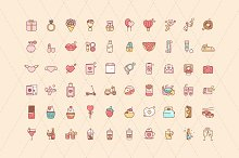 Lovely Cuties 120 Illustrated Icons by  in Icons