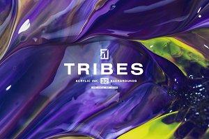 Tribes - Acryl Textures