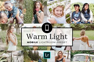 Mobile Lightroom Preset Warm Light