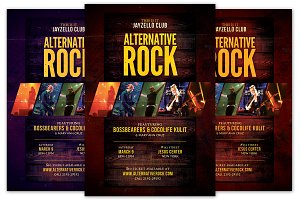 Alternative Rock Flyer