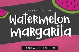 Watermelon Margarita Font