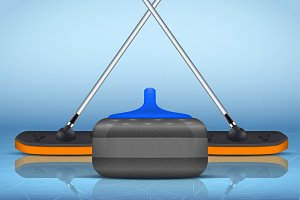 Curling sport equipment