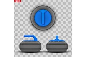 Curling stones equipment