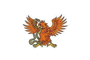 Golden Eagle Grappling Rattlesnake D