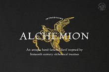 Alchemion - Display Serif Font