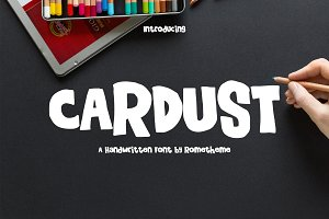 Cardust - Fun Font