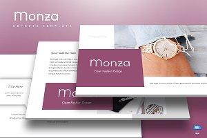 Monza - Keynote Template