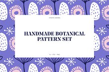 Handmade Botanical Pattern Set by  in Patterns