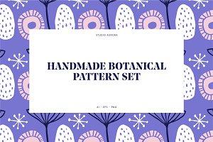 Handmade Botanical Pattern Set