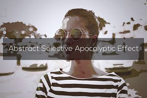 Abstract Apocalyptic Effect