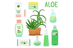 Aloe vera plant and products
