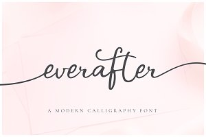 Ever After | Modern Calligraphy Font