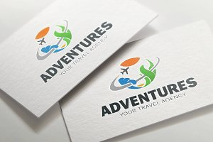 Travel Logo - Adventure Journey